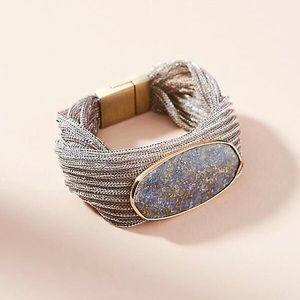 NWT Anthropologie Serefina Agate Wrap Bracelet